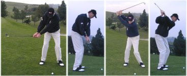 Click to enlarge backswing pictures