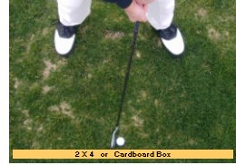Shank drill with board or box in place